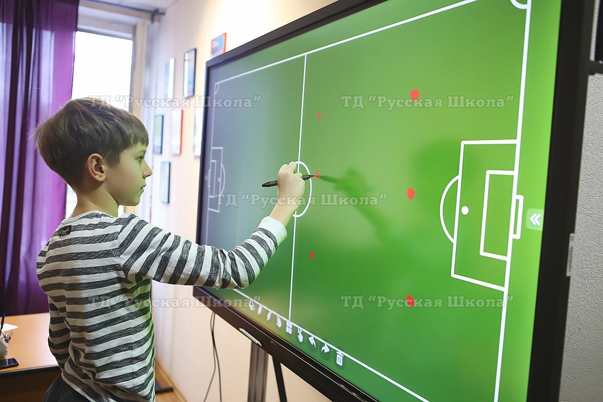 Учиться интересно и легко с многофункциональной интерактивной панелью Lumien 65 дюймов