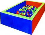Бассейн прямоугольный (150x150) (трансформируется в маты)