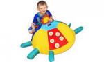 Детская Черепаха дидактическая со шнуровкой
