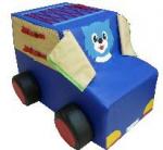 Детская дидактическая машинка