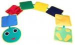 Детская игровая дорожка «Змейка-шагайка сенсорная»