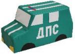 Детская игровая машина «МЧС, ГАИ, Полиция, Пожарная» (без колес)