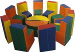 Детская игровая мебель «Радуга»