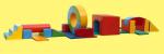 Детская полоса препятствия (17 элементов)