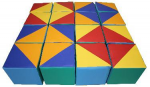 Детские игровые набор «Кубики –мозайка»