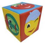 Детский дидактический кубик «Эмоции»
