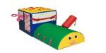 Детский дидактический паровоз