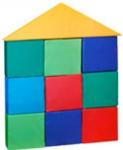 Детский игровой конструктор «Избушка» (10 единиц)