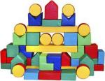 Детский игровой конструктор «Юный строитель 40»