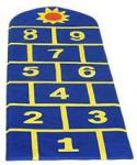 Детский игровой мат «Классики»