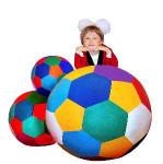 Детский игровой мяч набивной (D 50)