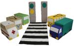 Детский игровой набор «Светофорчик без колес»