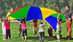 Детский игровой парашют (D 200 см)