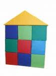 Детский игровой конструктор «Избушка» (7 единиц)