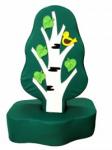 Дидактическое дерево с птичкой (маленькое)