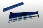 Городошные биты профессиональные L980мм(береза +металл, набор 2шт)в чехле