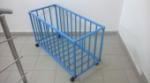 Контейнер для мячей на колесиках (метал)1000х450 h540мм (разборный без крышки)