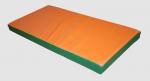 Мат гимнастический жесткий 1х1х0,1м (плотность 100кг/м3, искусс,кожа)