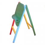 Мольберт детский односторонний (массив, краска)