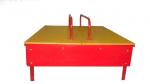 Песочница 1200х1200х200мм с крышками (фанера)