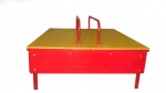 Песочница 1500х1500х200мм с крышками (фанера)