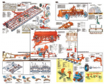 """Плакаты ПРОФТЕХ """"Машины для основной и предпосевной обработки почвы"""" (20 пл, винил, 70х100)"""