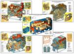 """Плакаты ПРОФТЕХ """"Машины для предварительной и первичной очистки зерна"""" (8 пл, винил, 70х100)"""