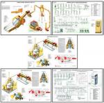 """Плакаты ПРОФТЕХ """"Машины и оборудование для переработки соломы"""" (25 пл, винил, 70х100)"""