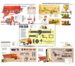 """Плакаты ПРОФТЕХ """"Машины и технология для внесения минеральных удобрений"""" (10 пл, винил, 70х100)"""