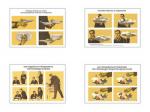 """Плакаты ПРОФТЕХ """"Обслуживание посетителей"""" (4 пл, винил, 70х100)"""