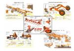 """Плакаты ПРОФТЕХ """"Сельскохозяйственные машины для обработки грунта"""" (33 пл, винил, 70х100)"""