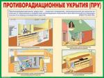 """Плакаты """"Защитные сооружения гражданской обороны"""" (10 шт. 30*41)"""