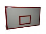Щит баскетбольный игровой 1800х1050мм влагостойкая фанера, рама металлическая