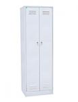 Шкаф для одежды двухстворчатый для школьных раздевалок