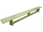 Скамейка гимнастическая 3,5 м (ножки деревянные)