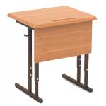 Стол 1-м. регулир. высота и наклон столешницы 0-10о ,(МДФ, 22мм, закр.углы.) 4-6гр