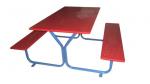 Стол детский +2 скамейки 1200х1150х620мм