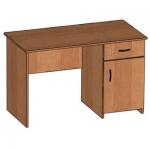 Стол письменный со встроенной тумбой (яшик + дверка с полкой)