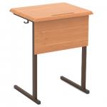 Стол ученический 1-местный (МДФ, 22 мм, закр. углы) гр.6
