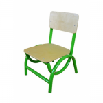 Стул детский 'Бамбуча' (гнуто-клееные элементы, без рисунка) гр. с 1 по 3 м/к зеленый RAL 6018