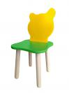 Стул Джери (зелено-желтый)