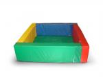 Сухой бассейн разборный квадратный (a-200см, h-50см, b-15см), расчитан на 2100 шариков