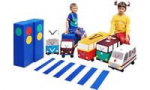 Детский игровой набор «Светофорчик на колесах»