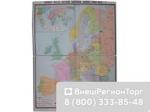 """Учебная карта """"Европа после 1-ой мировой войны"""""""