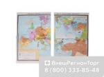"""Учебная карта """"Российская империя во второй половине XVIII в"""" (матовое, 1-стороннее лам.)"""