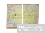 """Учебная карта """"Россия в  19 - нач. 20 столетия"""""""