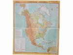 """Учебная карта """"Южная Америка""""(физическая) (матовое, 1-стороннее лам.)"""